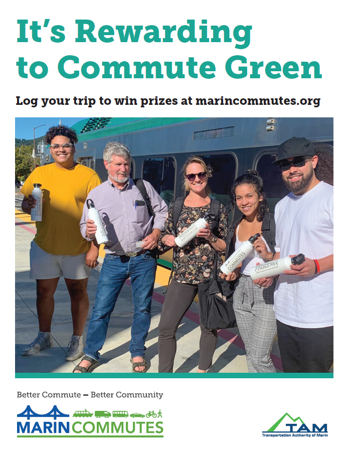 It's Rewarding to Commute Green!