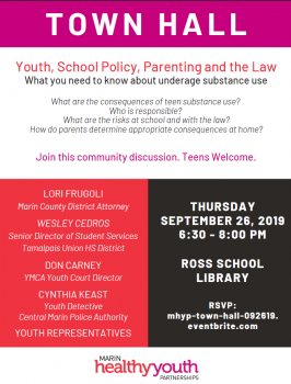 What you need to know about underage substance use. Join the discussion on September 26, 2019.